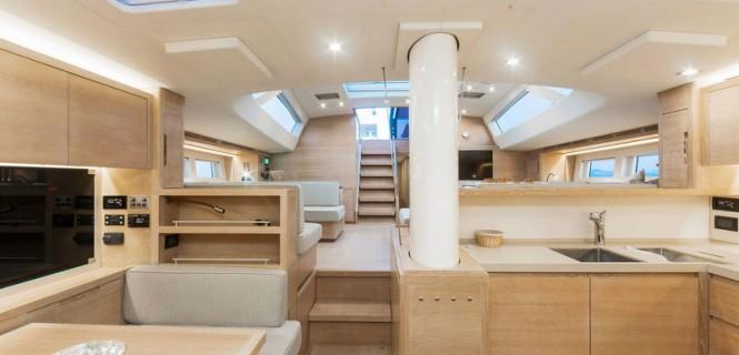 Super yacht APSARAS - Galley