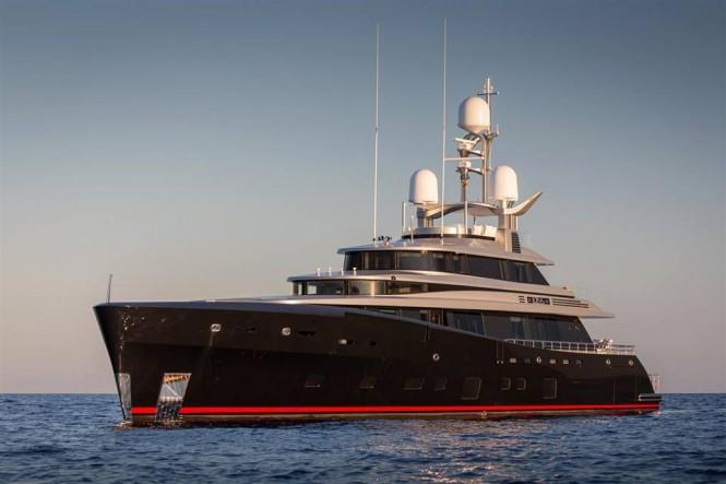 Super yacht KISS