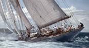 Superyacht ELEONORA the largest yacht to attend 2015 Panerai British Classic Week