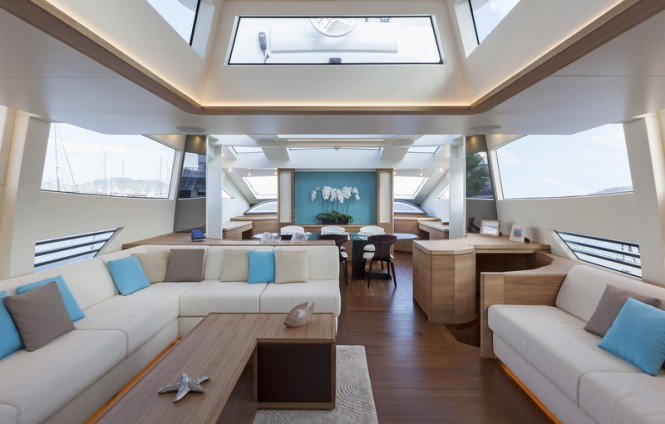 Superyacht SEA LOOK - Saloon