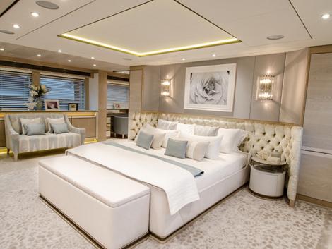 THUMPER Yacht - Master cabin