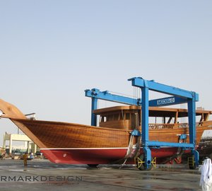 Luxury Dhow Superyachts by Al Mannai Marine and Watermarkdesign