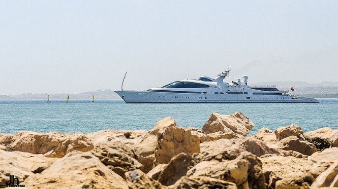 141m ADM Swift 141 Mega Yacht YAS in South of France - Photo by Julien Hubert
