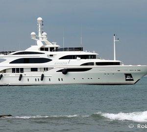 Awe-inspiring 56m Superyacht ANNAEVA by BENETTI