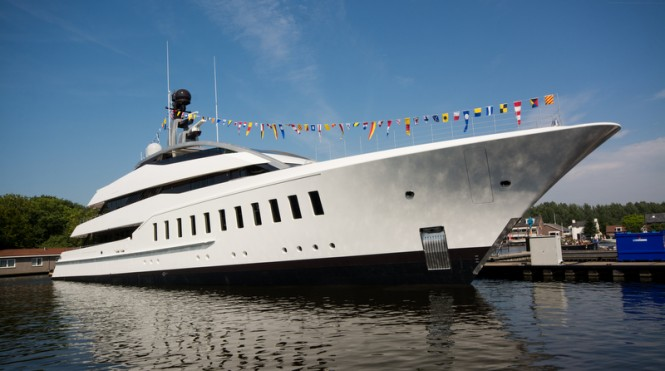 57m superyacht HALO (hull 810) by Feadship