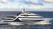 75m mega yacht EXPEDITION concept by Andy Waugh Yacht Design