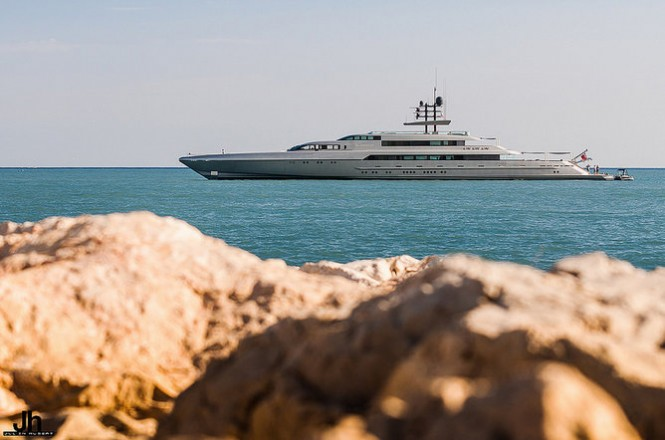 77m Mega Yacht SilverFast (ex Suvretta) by Silver Yachts - Photo by Julien Hubert