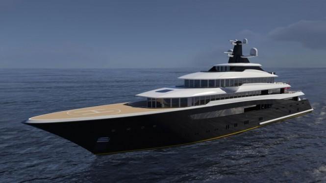 87m superyacht ARAGONESE concept by Jorge Jabor