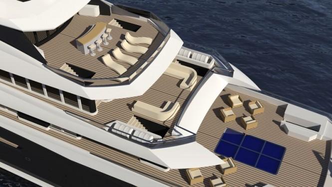 ARAGONESE Yacht Concept - Decks