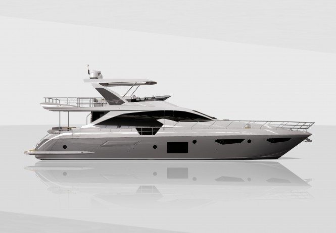 Azimut 72 Yacht - Preview