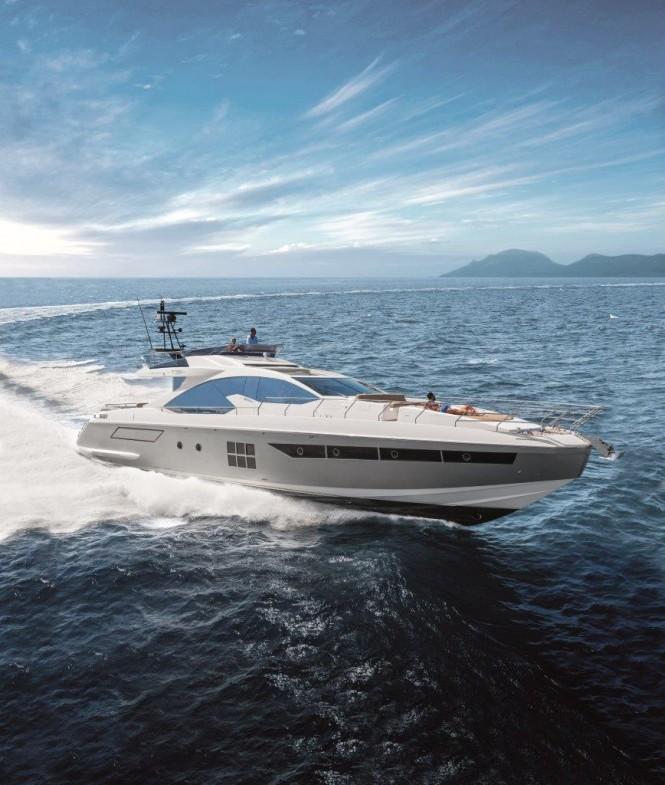 Azimut 77S Yacht Running