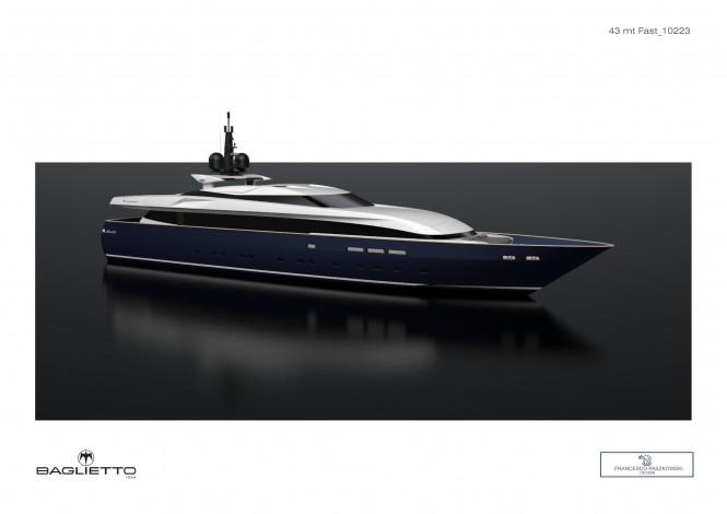 Baglietto 43 superyacht Pachamama