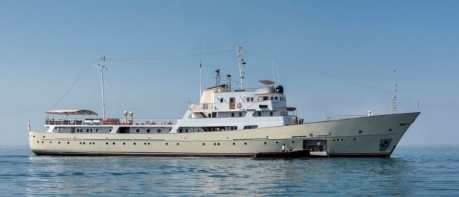 Beautifully restored 65m classic motor yacht LA SULTANA managed by Bachmann Group