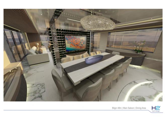 Bilgin 156 yacht - Dining