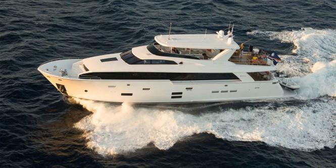 Hatteras 100 RPH Yacht