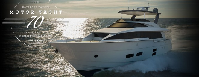 New hatteras 70 yacht to premiere at fort lauderdale boat for Hatteras 70 motor yacht
