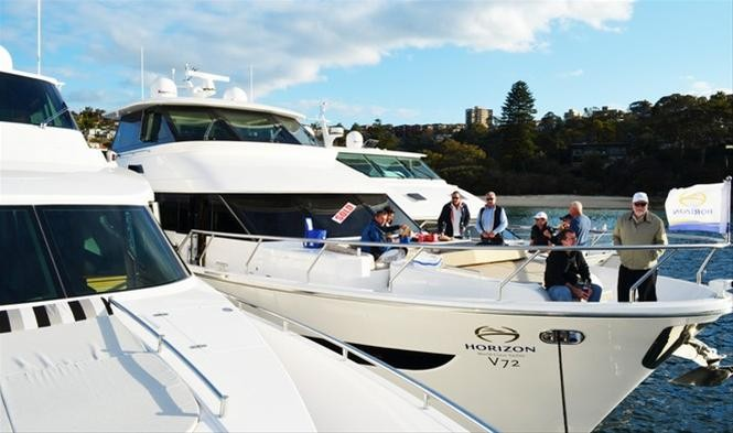 Horizon V72 Yacht sold during the Sydney Boat Show