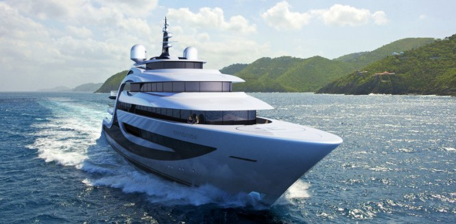 Luxury explorer yacht EXPEDITION concept