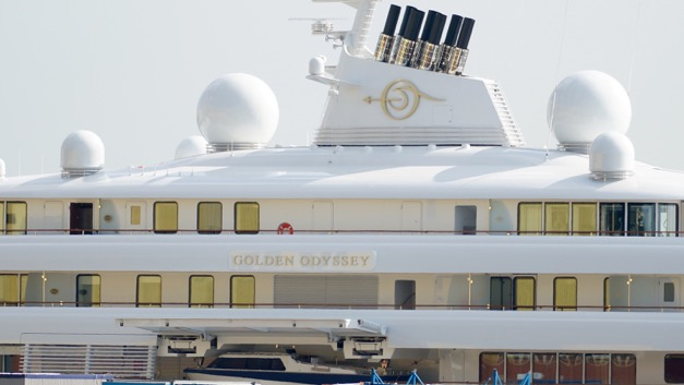 Luxury motor yacht GOLDEN ODYSSEY - Photo by DrDuu