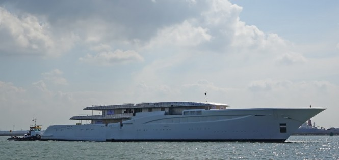 Luxury motor yacht Hull 1006 by FEADSHIP - Photo by Kees Torn