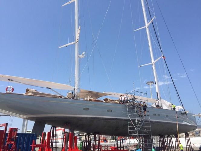 Luxury sailing yacht ELFJE