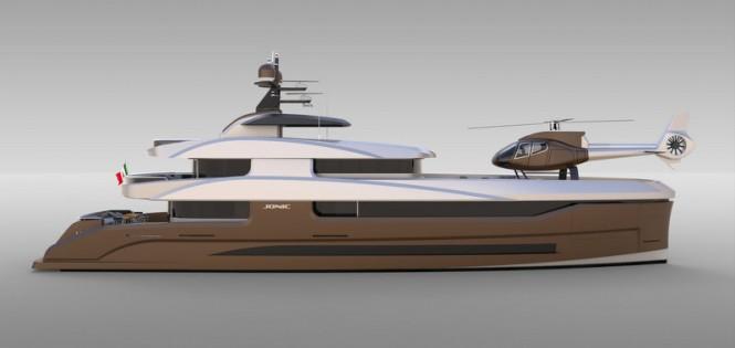 Luxury yacht FX 360 concept