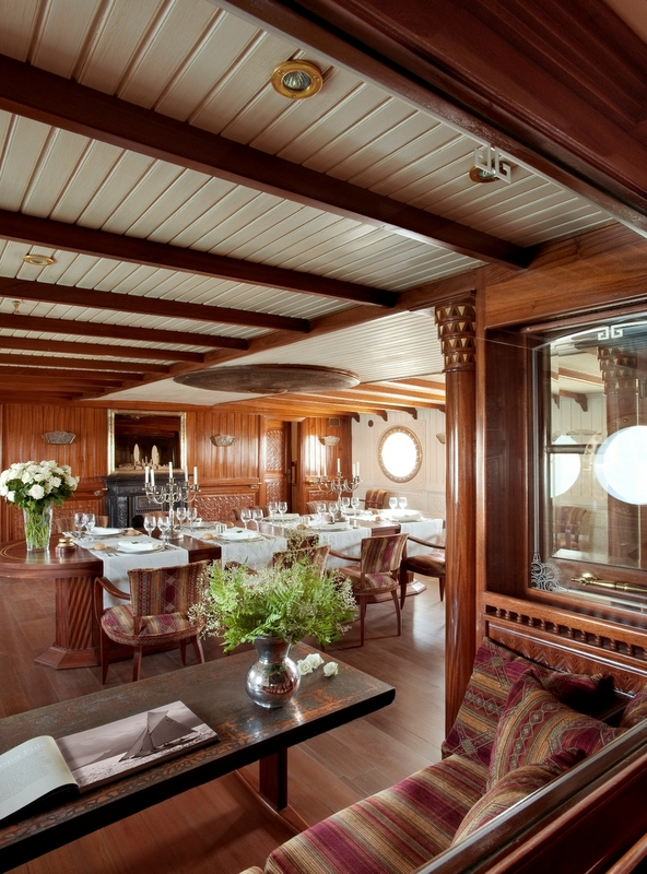 Luxury yacht LA SULTANA - Dining