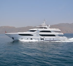 Gulf Craft's Cannes and Monaco Display with Majesty 135 Superyacht