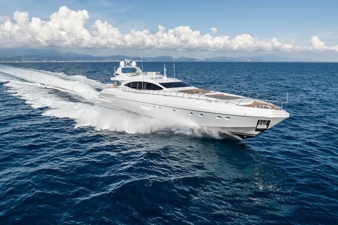 Mangusta 132 Superyacht - Running