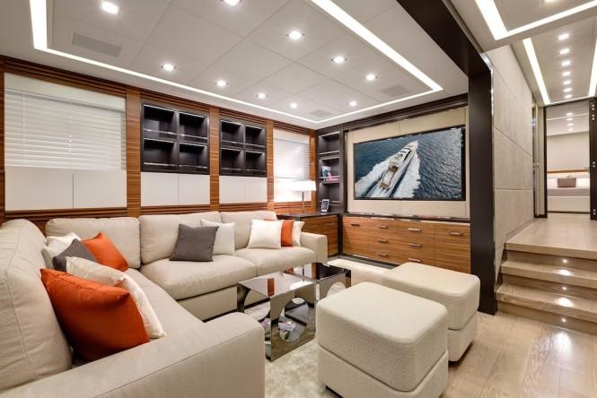 Mangusta 132 yacht - interiors