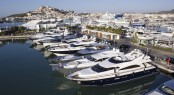 Marina Ibiza - a beautiful Ibiza yacht charter destination, nestled in Spain