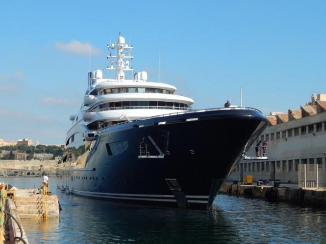 Mega yacht SERENE in Malta