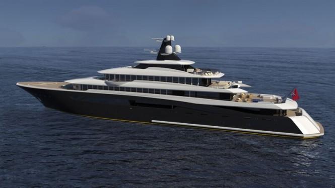 Motor yacht ARAGONESE concept