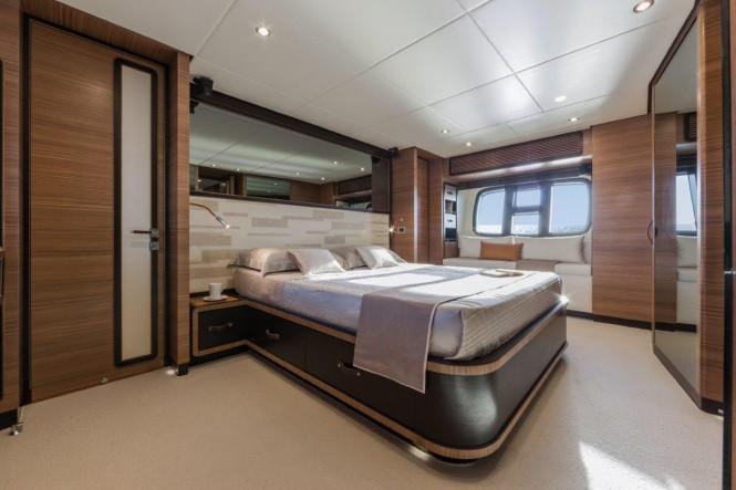 Motor yacht Magellano 76 - Master Cabin