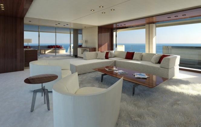 Motor yacht SERENITY - Saloon
