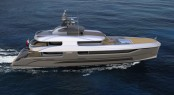 New 36m explorer yacht FX 360 concept by F.O. Design