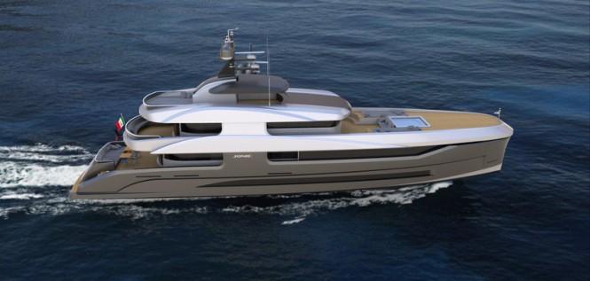New 36m explorer yacht FX 360 concept by F.O. Design