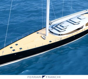 New 50m Sailing Superyacht Concept by Ferrari & Franchi