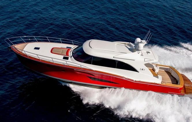 New Motor Yacht Cresta 70 by Cresta Motor Yachts at full speed