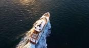 Newly refitted 36m Oceanfast superyacht SAHANA now available for superyacht charter in Australia