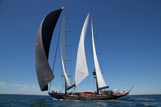Newport Bucket Superyacht Marie - Photo by Billy Black