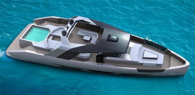 One of the MYDA – Millennium Yacht Design Award 2015 Winners - Luxury motor yacht MET' 80 by BMG Style Project