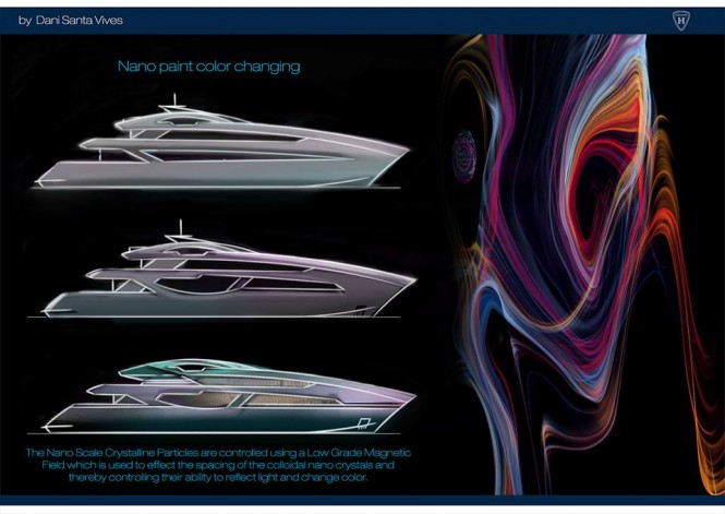 One of the Yacht Design Talent Award 2015 Finalists - Dani Santa Vives