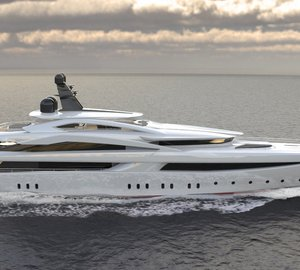 Construction of Impressive 70m Mega Yacht Columbus Oceanic 70 well underway