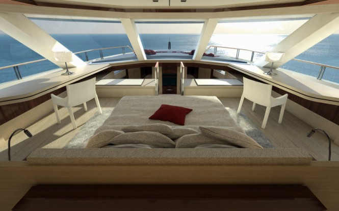 SERENITY Yacht - Owners Cabin