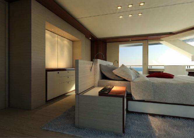SERENITY superyacht - accommodation quarters