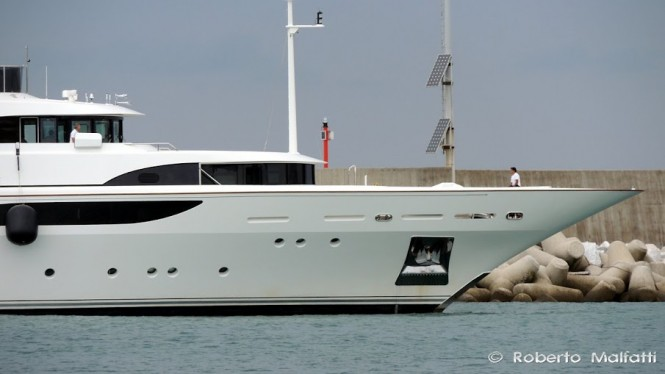 Super yacht ANNAEVA - Photo by Roberto Malfatti