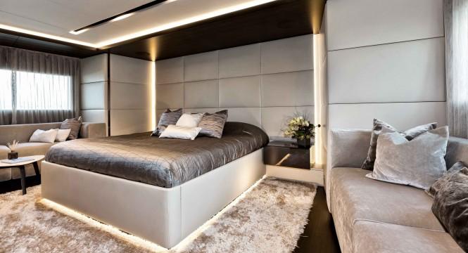 Super yacht NONO - Owners cabin