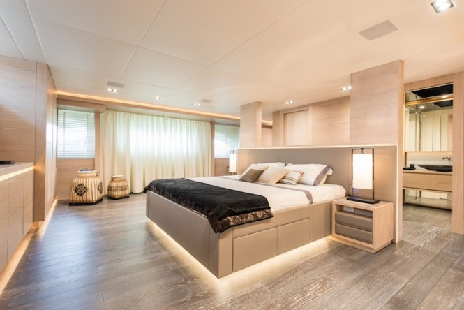 Superyacht AB 145 interior
