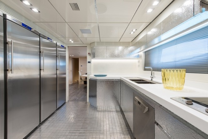 Superyacht AB145 - galley